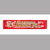 Ленты для выпускников детского сада красная, атлас (с объемной надписью - 3D )