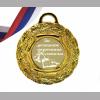 Медаль за успешное окончание школы.